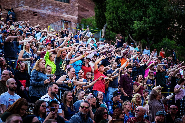 Walk Off The Earth and Matt + Kim - Red Rocks - Denver COncert Photos