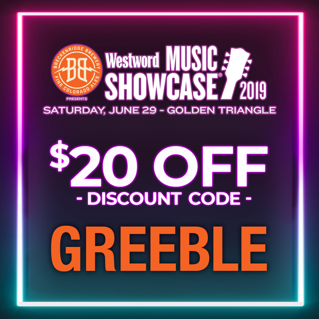 Westword Music Showcase Discount Code