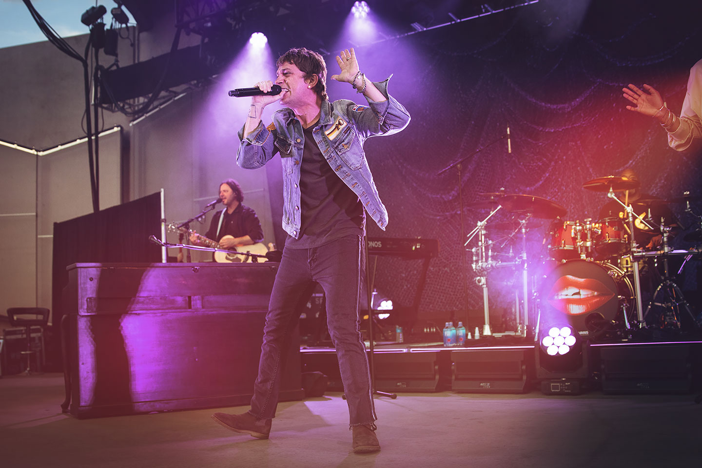 Rob Thomas - Levitt Pavilion - Denver Concert Photos