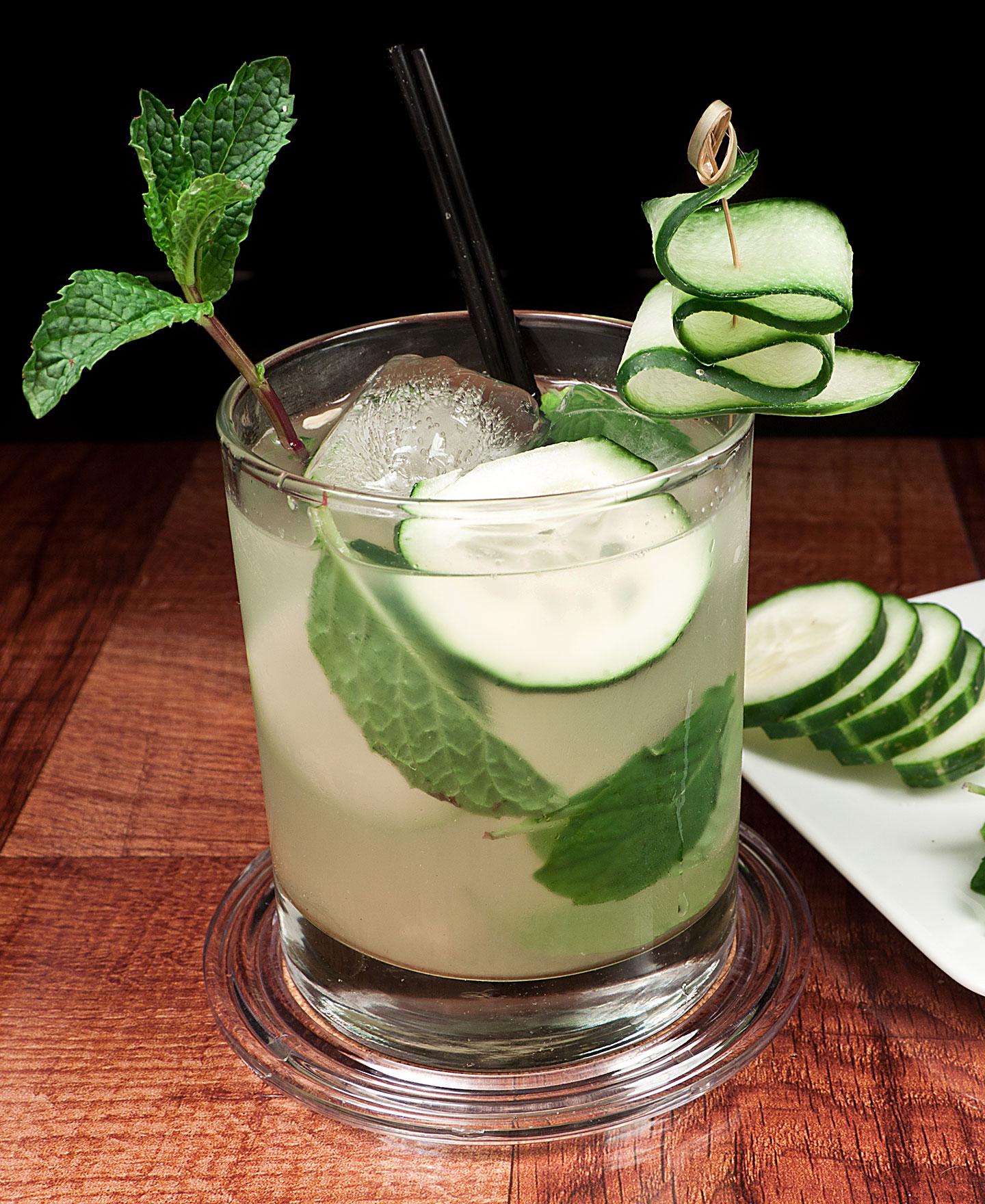 Cucumber Vodka Even Keel - Summer Vodka Drinks - Cocktail Recipes from Denver Bartenders made with KEEL Vodka
