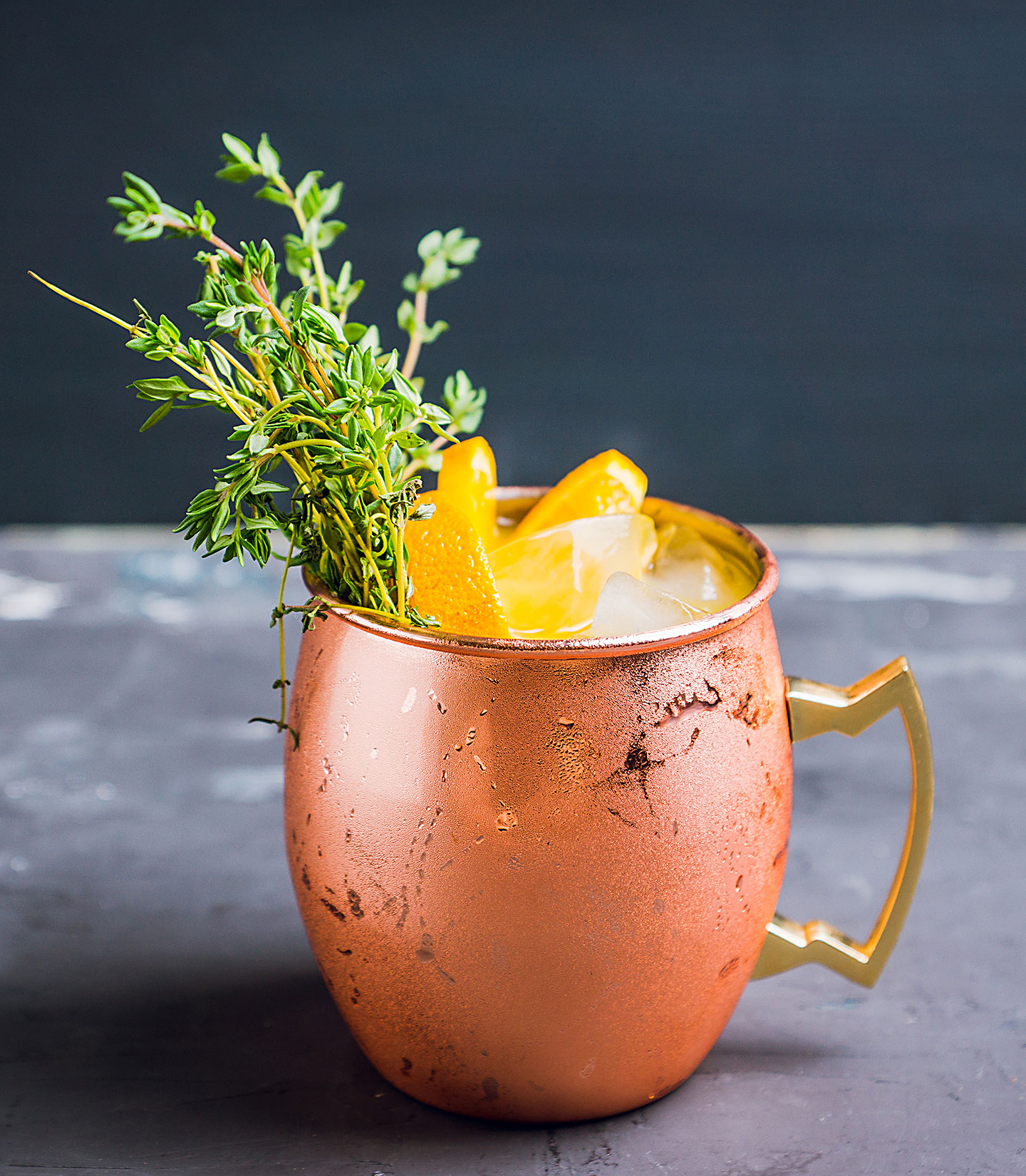 Mandarin Moscow Mule - Summer Vodka Drinks - Cocktail Recipes from Denver Bartenders made with KEEL Vodka