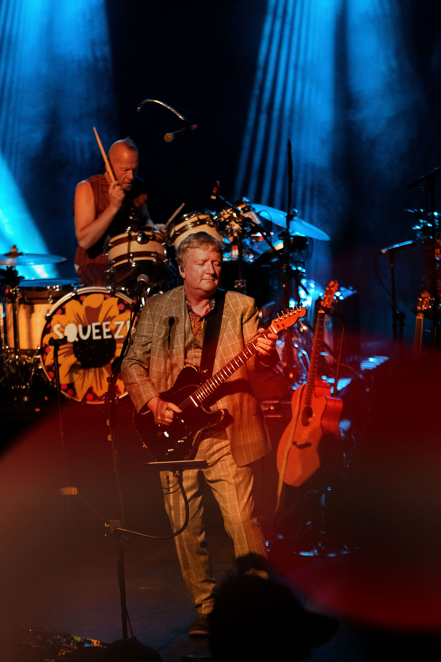 Squeeze and X - Arvada Center - Denver Concert Photos