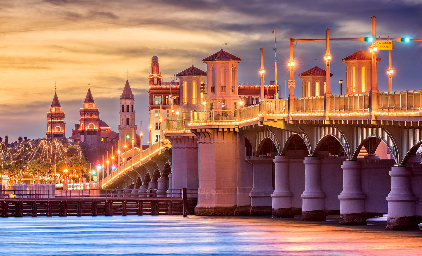 List of Fun Things To Do In St. Augustine, Florida - Bridge of Lions
