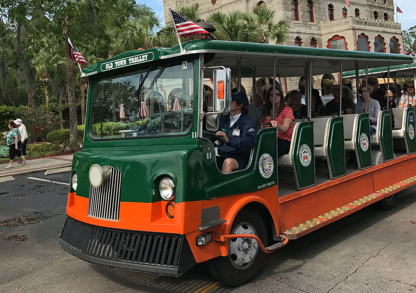 List of Fun Things To Do In St. Augustine, Florida - Hop On Hop Off Tour Bus