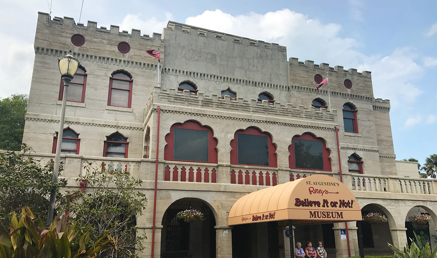 List of Fun Things To Do In St. Augustine, Florida - Ripley's Believe it Or Not Museum