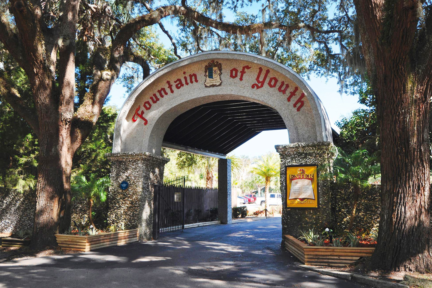 List of Fun Things To Do In St. Augustine, Florida - Ponce de Leon's Fountain of Youth