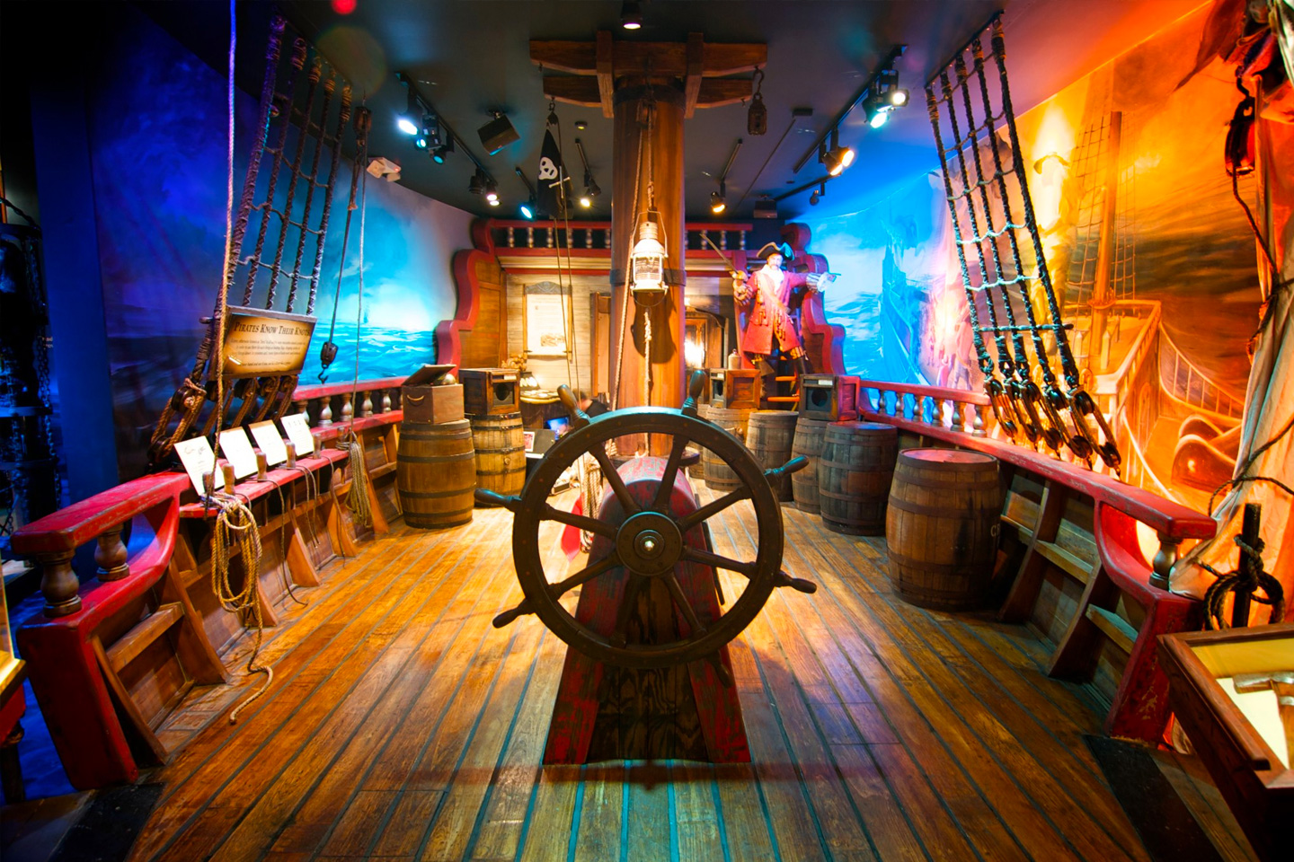 List of Fun Things To Do In St. Augustine, Florida - St. Augustine Pirate & Treasure Museum