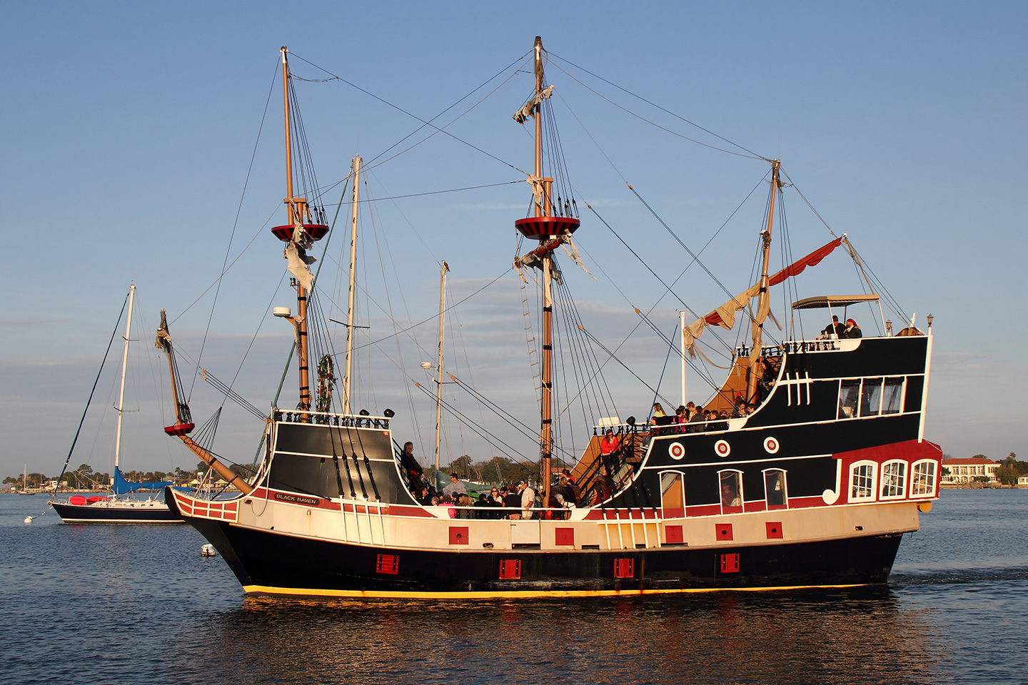 List of Fun Things To Do In St. Augustine, Florida - Pirate Ship Black Raven