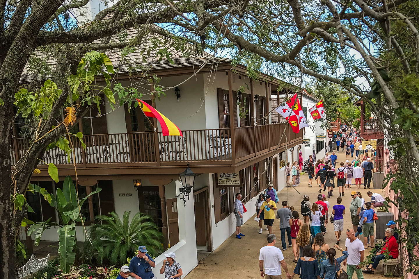 List of Fun Things To Do In St. Augustine, Florida - St. George Street
