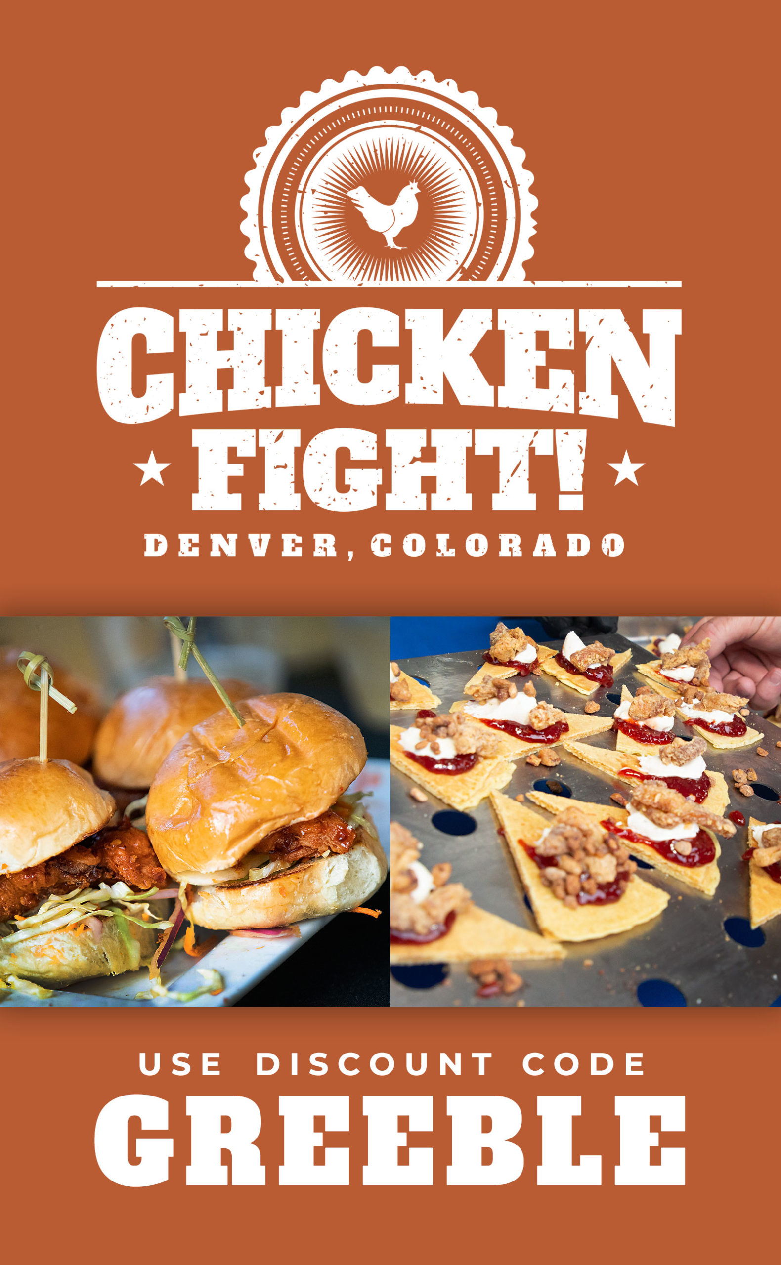 Chicken Fight Fest Denver 2020 - Discount Promo Code
