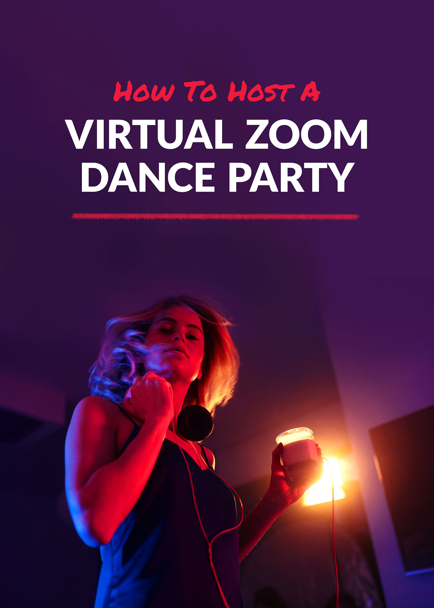 How To Host A Zoom Dance Party - Virtual Dance Party #Zoom #DanceParty #PartyIdeas