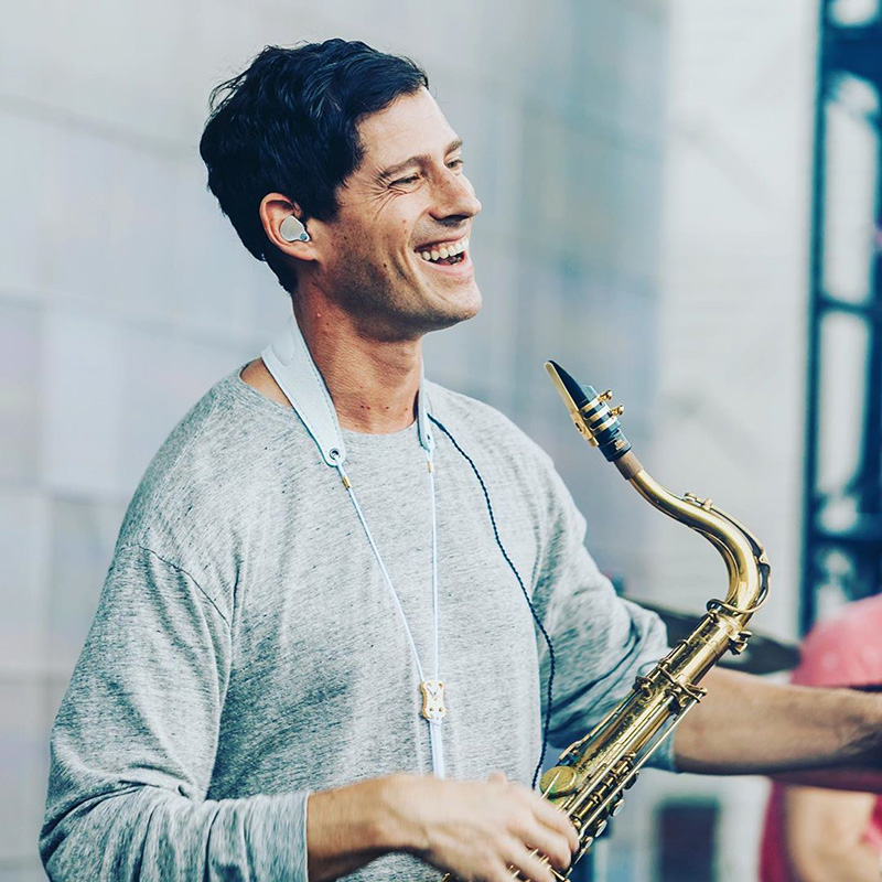 Big Gigantic producer/songwriter/saxophonist Dominic Lalli