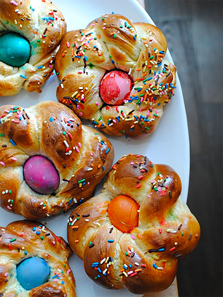 Easter Crafts & Recipes - Italian Easter Bread