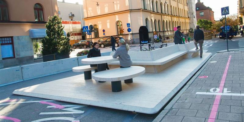 Sweden's 'Street Moves' for Outdoor Spaces