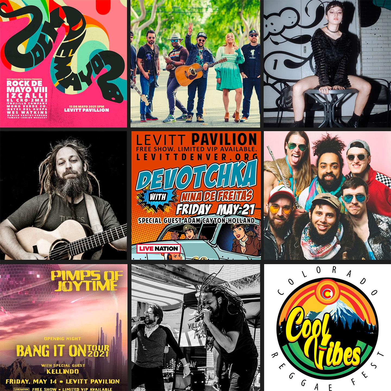 Levitt Pavilion Denver - Summer Series 2021